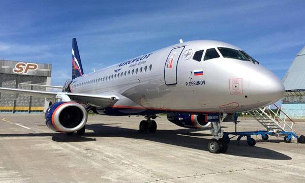Aeroflot commande 20 Superjet 100 supplémentaires