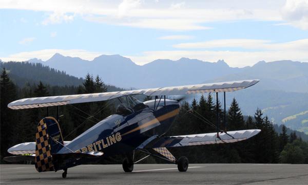 Megève sublimée par 50 ans d'aviation