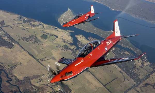 Les PC-21 australiens entrent en service