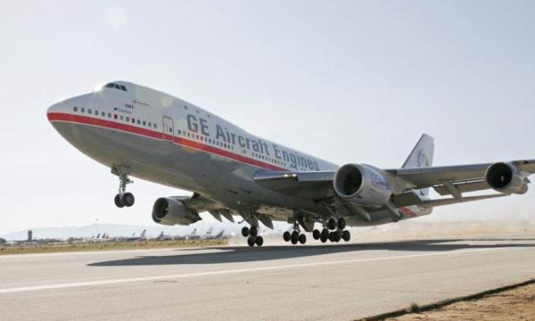 Le Boeing 747 d'essais de GE Aviation fait ses adieux