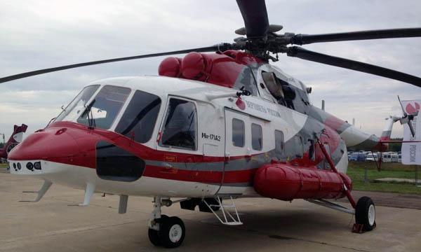 Dubai Airshow 2017 : premier contrat export pour le Mi-171A2 de Russian Helicopters