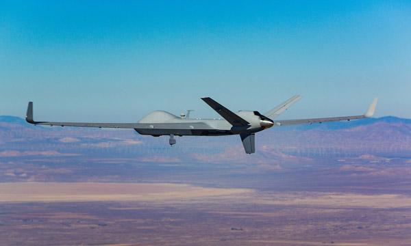 Le MQ-9B entre dans l'espace aérien civil