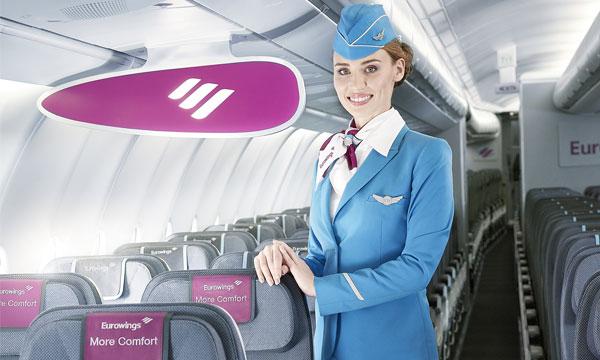 Eurowings recrute 600 membres du personnel navigant
