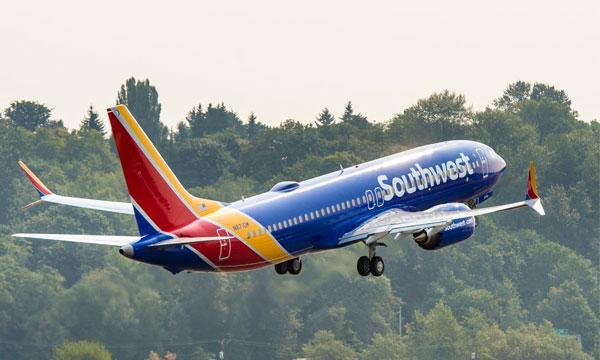 Southwest Airlines reçoit son 1er Boeing 737 MAX
