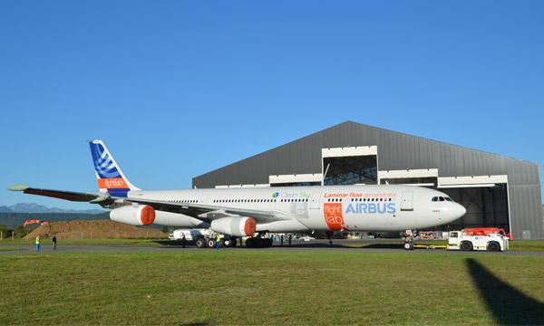 L'A340 BLADE à l'affût de l'écoulement laminaire