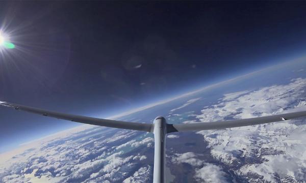 Premier record d'altitude battu pour le Perlan 2 d'Airbus
