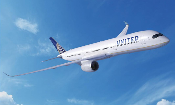 United Airlines commande 10 Airbus A350 supplémentaires