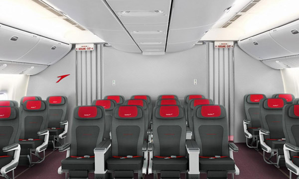 Austrian Airlines présente sa Premium Economy