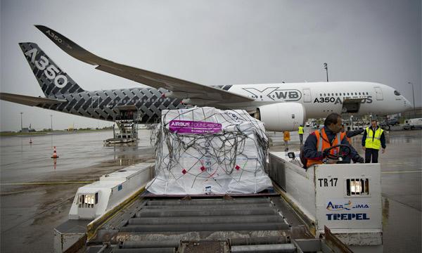 La Fondation Airbus et la Croix-Rouge française font appel à un A350 pour venir en aide aux sinistrés de l'ouragan Irma