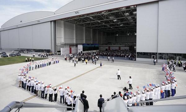 Airbus inaugure son centre de complétion A330 en Chine et livre son 1er appareil à Tianjin Airlines