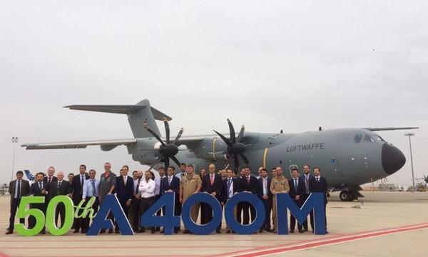 Photo : Airbus livre le 50ème A400m