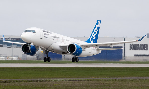 Accord syndical pour le CSeries