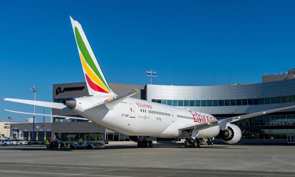 Premier Boeing 787-9 pour Ethiopian Airlines