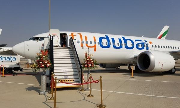 Dubai Airshow 2017 : Flydubai ouvre les portes de son premier Boeing 737 MAX (photos)