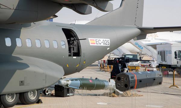 Dubai Airshow 2017 : Le C295 passe à l'attaque