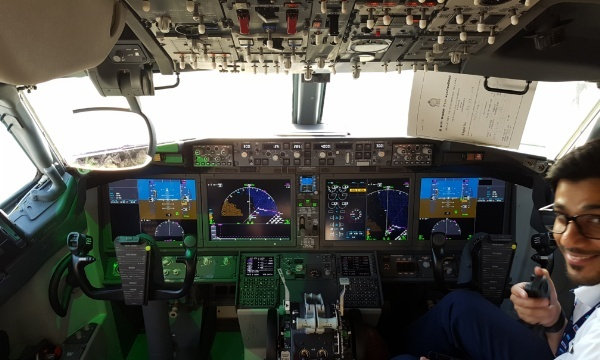 Dubai Airshow 2017 : Rockwell Collins lance le double HGS sur 737 MAX avec flydubai