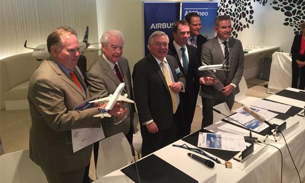 Dubai Airshow 2017 : Indigo Partners sauve le salon d'Airbus