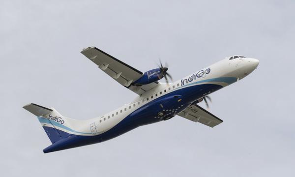 Le premier ATR 72-600 d'IndiGo a été livré