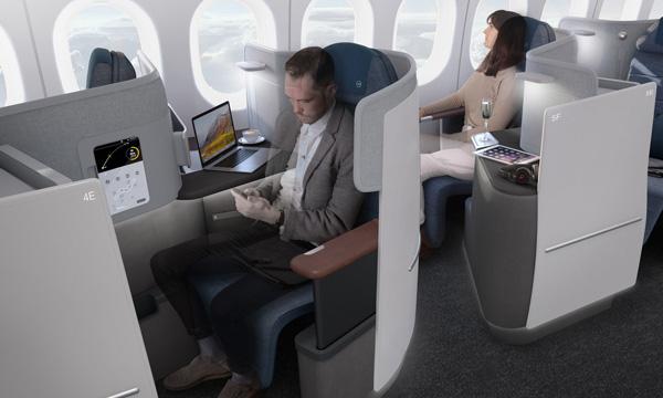 Lufthansa donne un aperçu de sa nouvelle classe affaires sur 777X