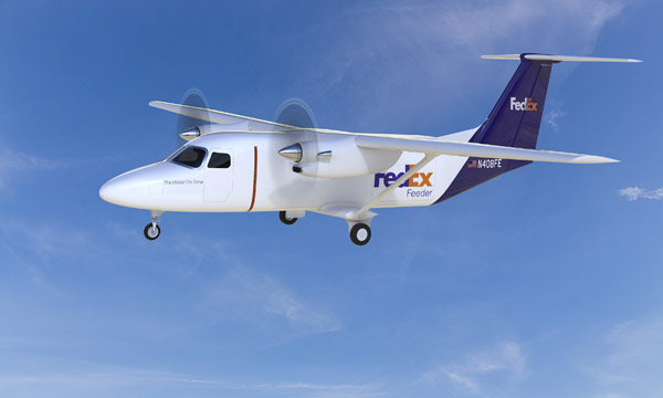 Textron Aviation lance le Cessna SkyCourier avec FedEx