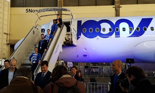 Joon dévoile ses A320 et ses nouvelles destinations