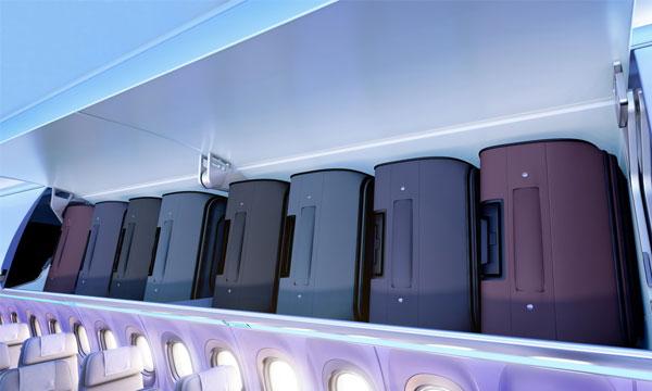 American Airlines installe les nouveaux compartiments bagages Airspace sur sa flotte A321