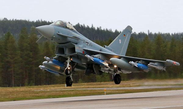 Des capacités air-sol pour les Eurofighter allemands