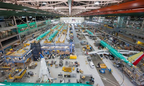 Boeing annonce un record de livraisons en 2017