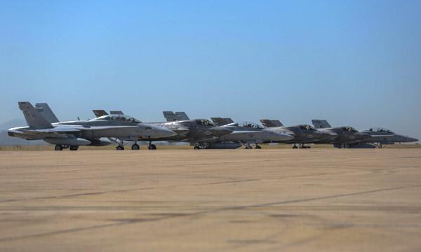 Miramar se prépare à accueillir le F-35