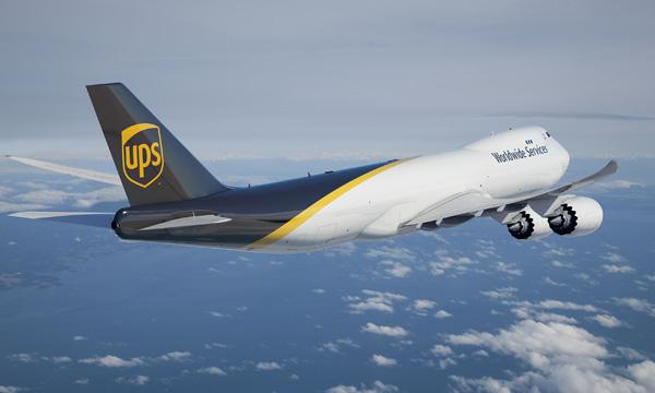 UPS commande de nouveau 14 Boeing 747-8F