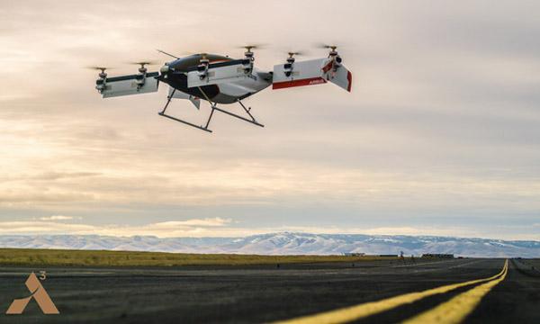 Le Vahana d'Airbus fait son premier vol