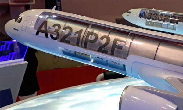 Singapore Airshow 2018 : EFW remporte son premier contrat de conversion d'A321P2F avec Vallair