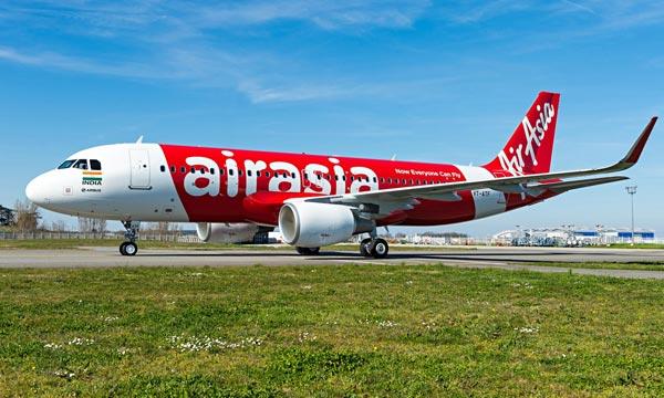 Le groupe AirAsia organise la maintenance de sa flotte avec Airbus et AFI KLM E&M