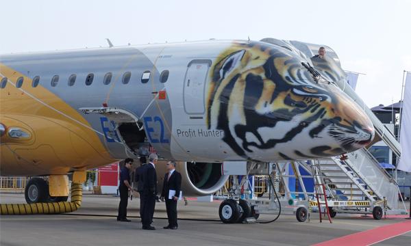Certification imminente pour l'E190-E2, premier membre de la famille E-Jet E2 d'Embraer