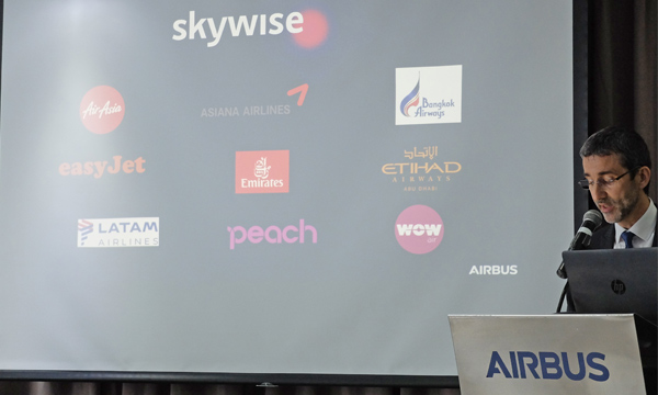 Airbus adds new customers to Skywise