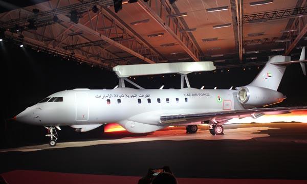 Saab présente le GlobalEye, son nouvel avion AEW&C