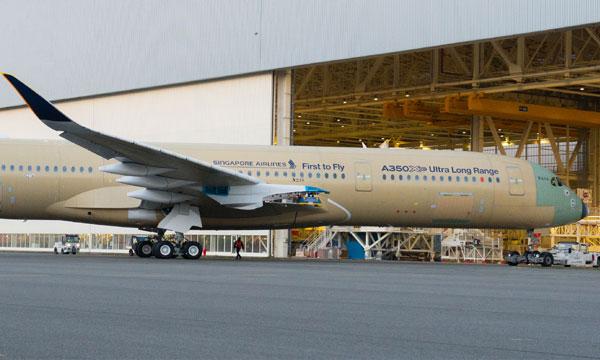L'Airbus A350-900ULR prêt pour ses premiers essais