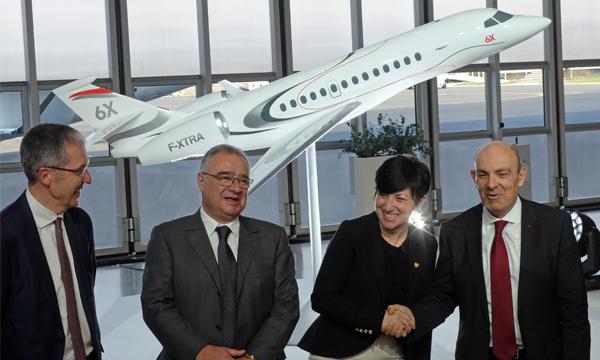 Dassault Aviation lance son Falcon 6X
