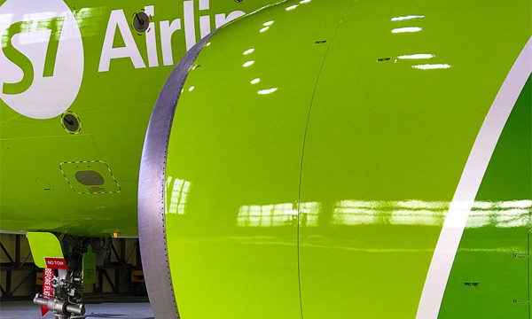 S7 Technics will be repainting 17 S7 Airlines planes