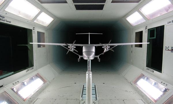 Cessna achève les essais en soufflerie du SkyCourier
