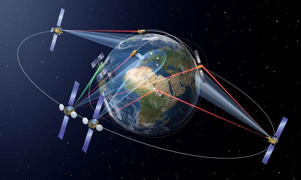 Copernicus passe au haut débit avec le SpaceDataHighway d'Airbus