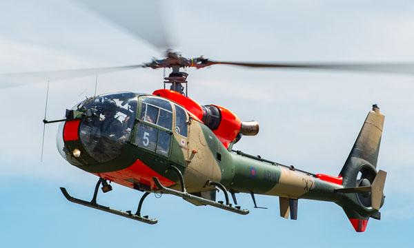 Vector Aerospace sur la maintenance des Gazelle britanniques