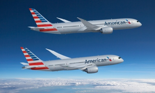 American Airlines commande 47 Boeing 787 et annule ses A350