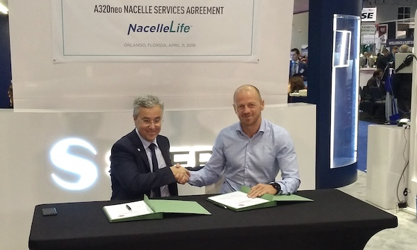 Safran Nacelles launches its NacelleLife offer with two A320neo contracts