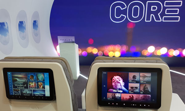 Aircraft Interiors 2018 : avec Core et Prestige, Thales élargit et personnalise son portefeuille IFE