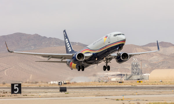 Boeing delivers the 1st 737-800 BCF to GECAS