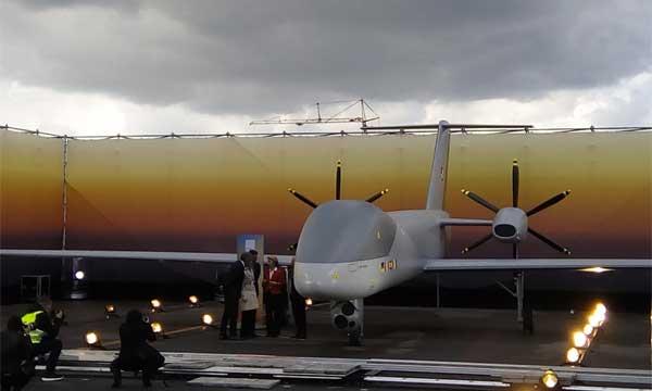 L'Eurodrone se dévoile à Berlin