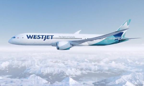 WestJet présente son Boeing 787