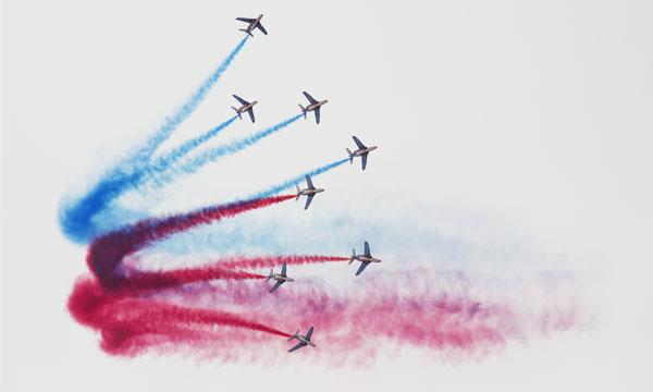 Une première pour les ambassadeurs de l'armée de l'air