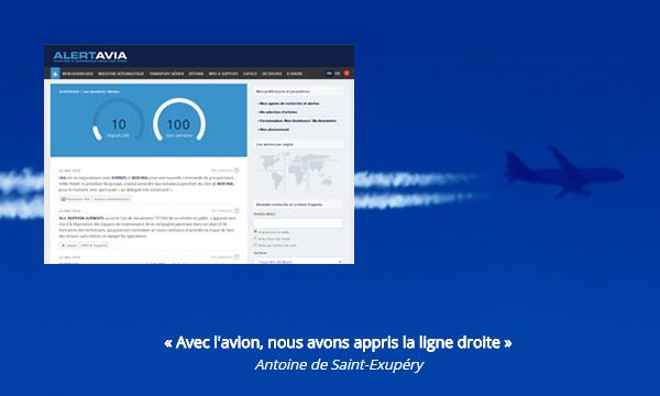 Le Journal de l'Aviation lance ALERTAVIA, une plateforme d'information dédiée aux professionnels de l'aéronautique